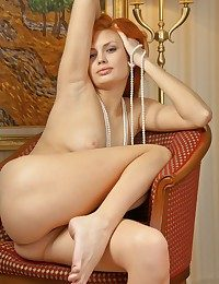 Appealing redhead with..