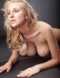 Ash-blonde stunner..